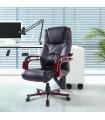 Scaun directorial, ergonomic, Negru, 921-115BK